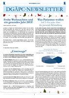 DGAEPC_Newsletter_Dezember_2012