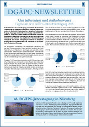 DGÄPC-Newsletter September 2015