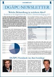 DGÄPC-Newsletter November 2015
