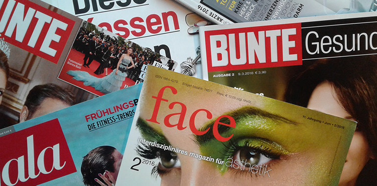 DGÄPC-Pressestelle: Jahresrückblick 2016