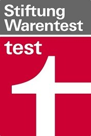 Logo Stiftung Warentest Test