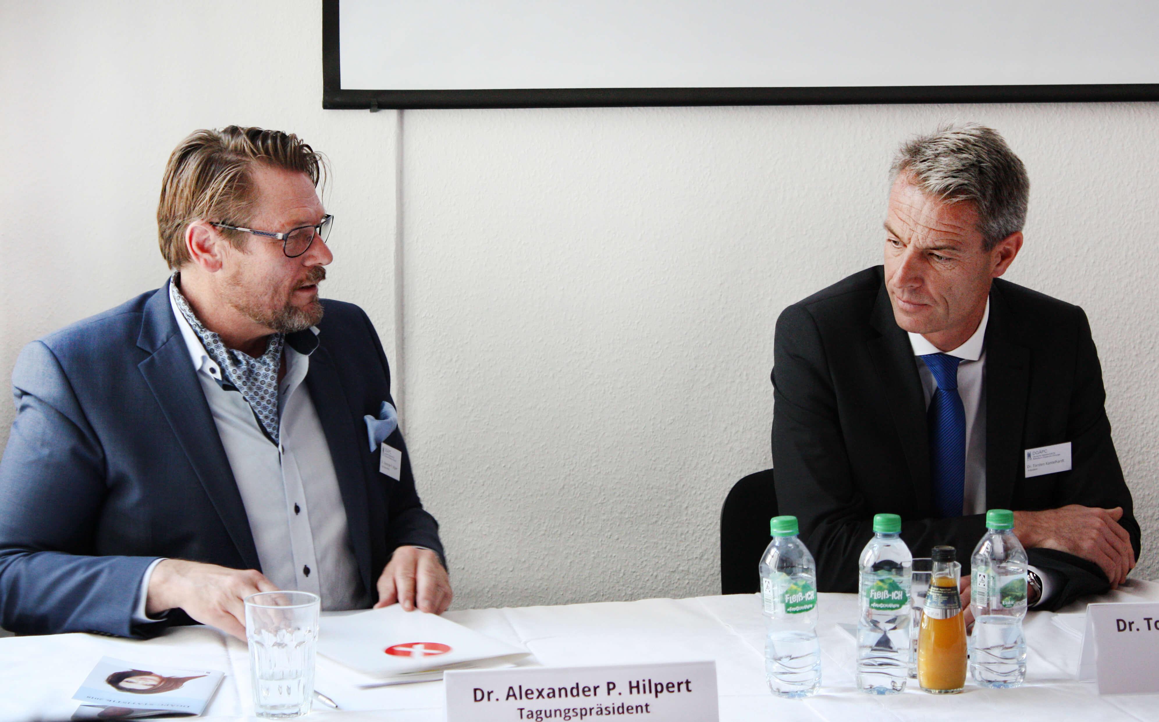 Pressekonferenz zur DGÄPC- Statistik 2018
