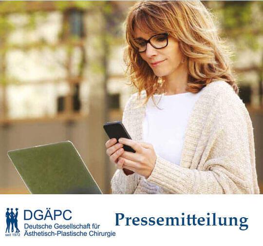 Pressemitteilung DGÄPC-Statistik 2020